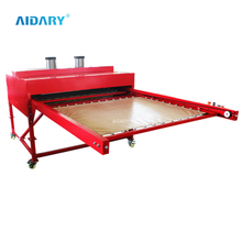 "39""*47"" Double Layers Drawer Design Big Format Pneumatic Sublimation Heat Press D2"