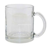 Frosted/Clear Sublimation Glass Mug