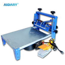 AIDARY Single Colour Round Vacuum Printing Equipment