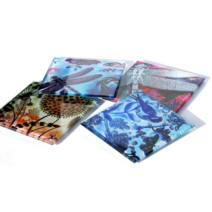 Sublimation 100 Square Glass Coaster BL17A