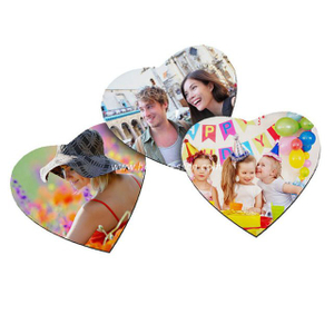 5mm Sublimation Heart Mouse Pad