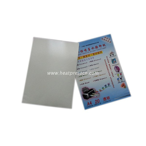 Transparent Based Water Transfer Paper for Inkjet Printer TI