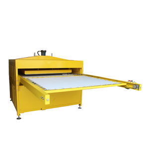 Double Layers With Drawer Design Big Format Pneumatic Sublimation Heat Press D2