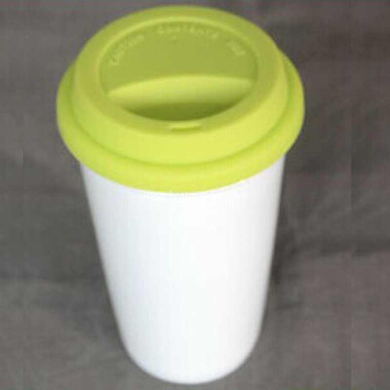 Double Layer Cone Starbucks Coffee Mug with Lid DLM