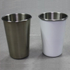 Silver Cone Shape Cup Sublimation Stainless Steel Mug