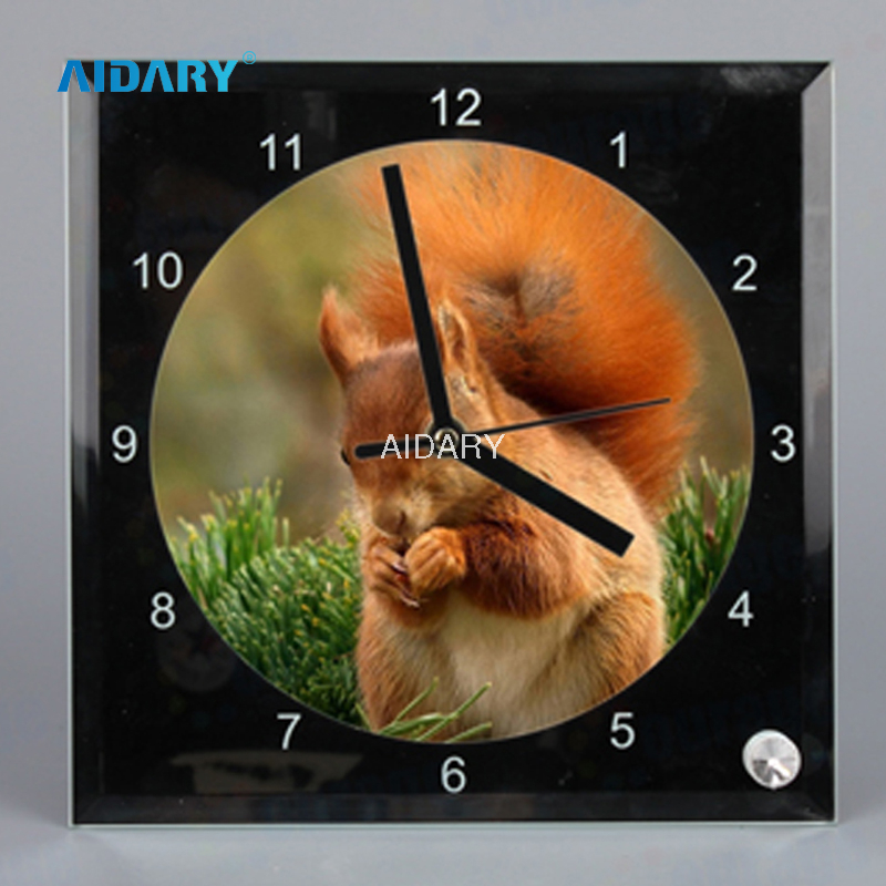 Display Type 20 * 20 Mirrors Edge Clock With Sublimation Coating BL14
