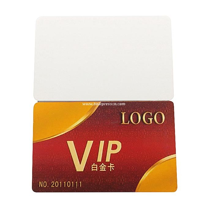 Golden PVC ID Card