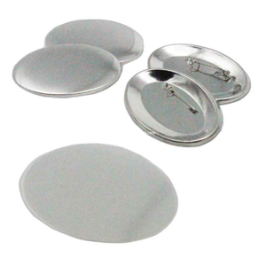 Oval Buttons Materials