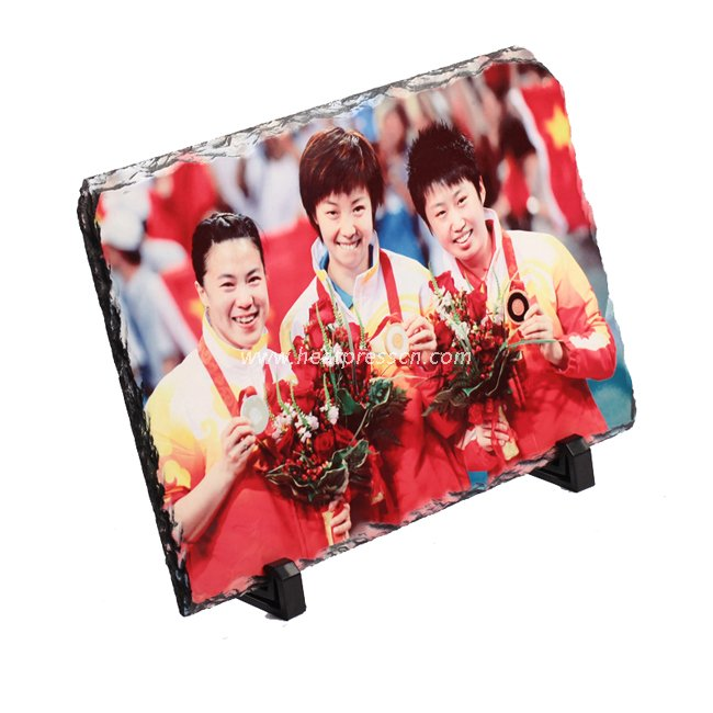 Sublimation Photo Slate Plaque - rectangle