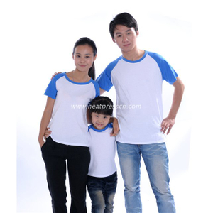 Polyester T-Shirt with Sleeve Colorful for Child PT-C1