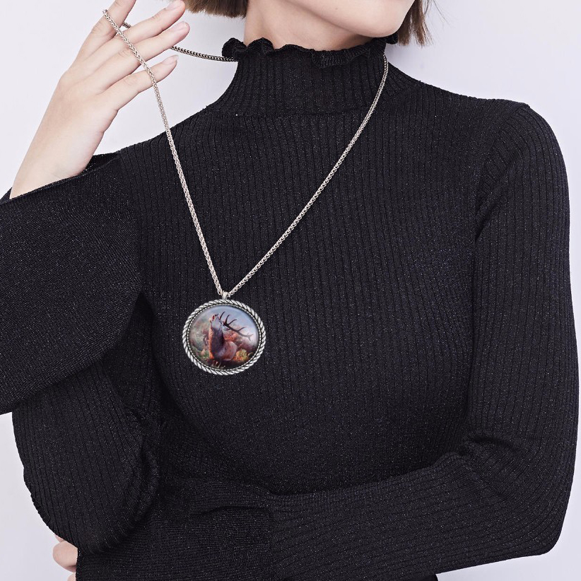 Sublimation Metal Necklace
