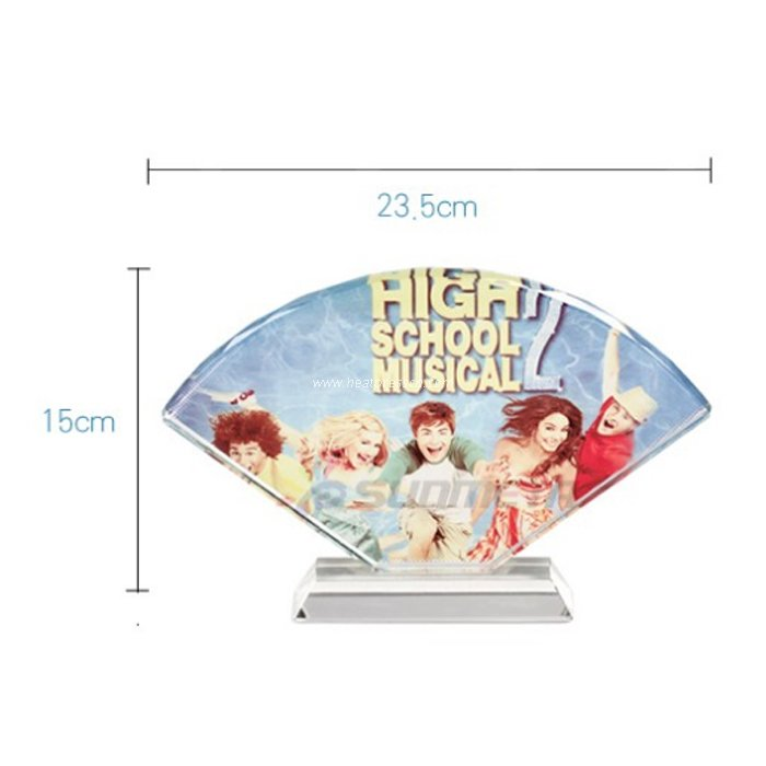 UV Crystal - Fan-shaped Screen BSJ17