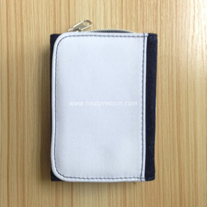 Personalizing a Canvas Wallet with Dye Sublimation