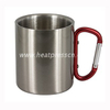 Carabiner Handle Stainless Steel Photo Mug