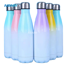 AIDARY Colorful Double Layers Vacuum Thermos Cup
