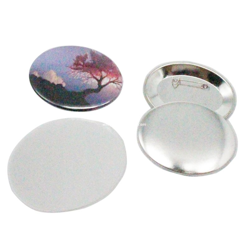 Round Metal Blank Button Badge for Sales