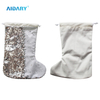 AIDARY Sublimation Sequin Christmas Sock