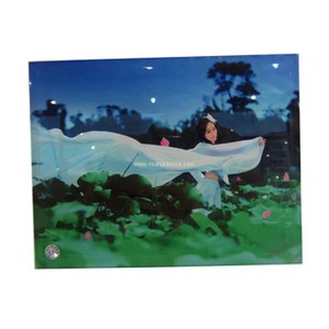 "8"" of Smooth Glass Photo Frame for Sublimation BL31"