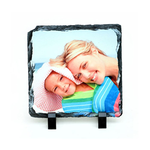 Sublimation Photo Slate Rock Plaque - Square