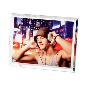 "8""Bevel Crystal Frame for Sublimation BL05"