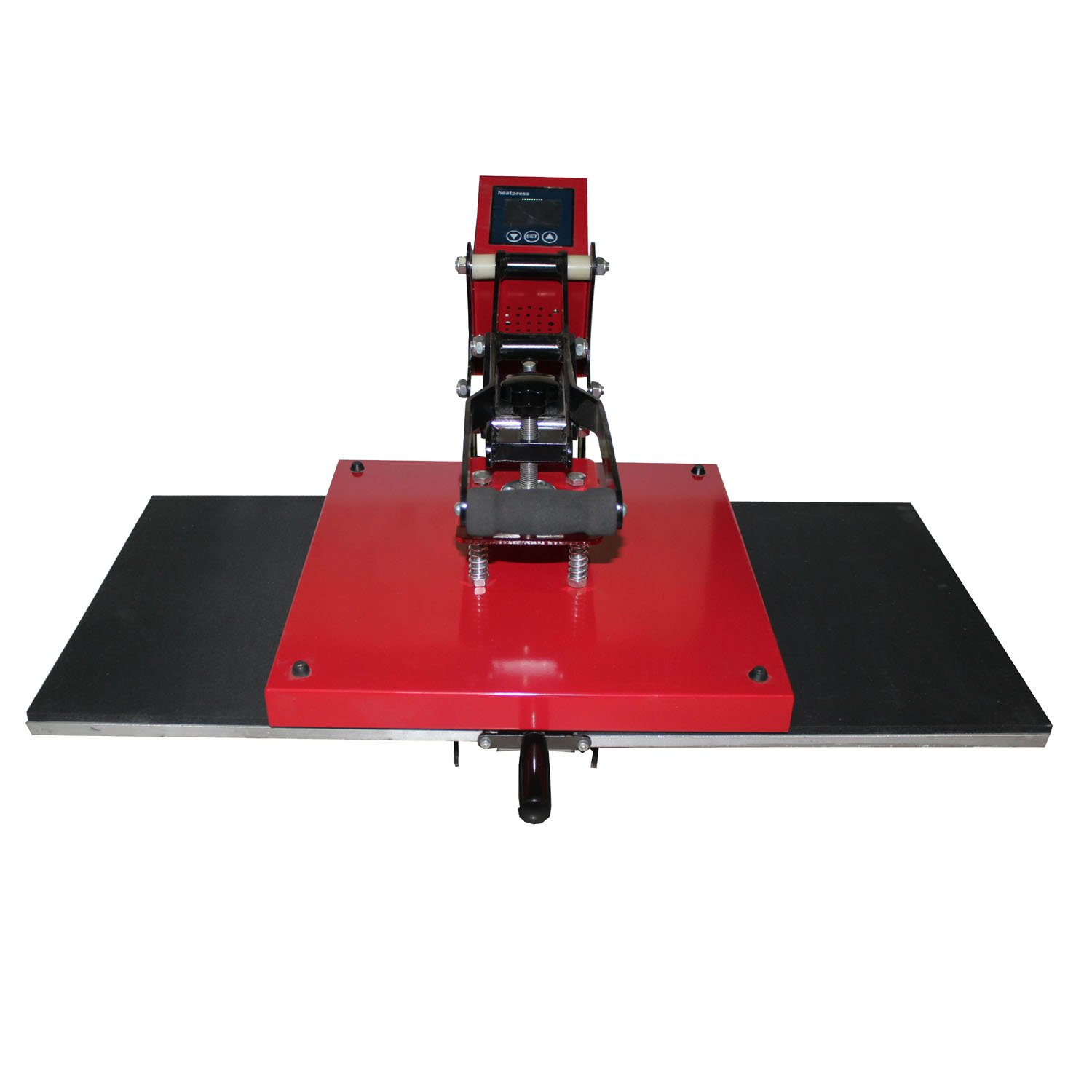 AP1801 Manual Two Stations Portability Moving Digital Heat Press Machine