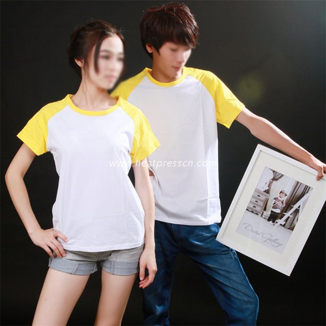 Cotton T-Shirt with Sleeve Colorful for Men CT-M2