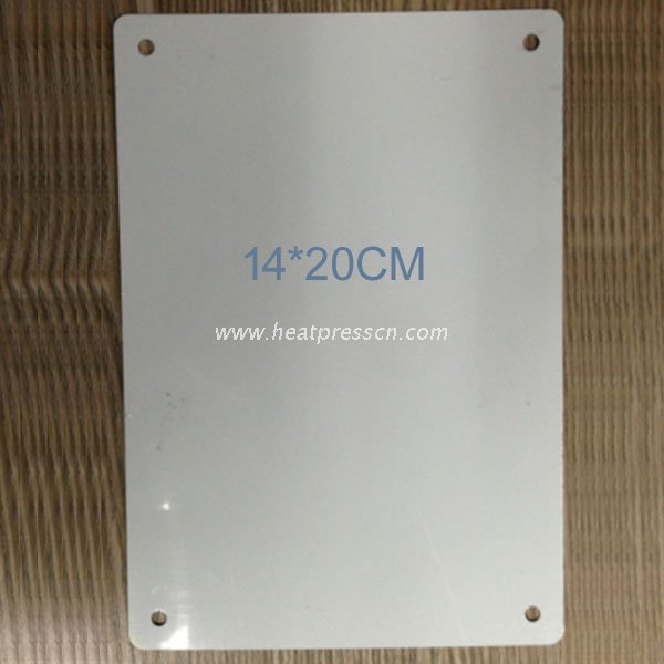 Sublimation Metal Signboard 14*20CM