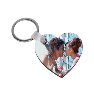 China Supplier Sublimation HB Heart Key Chain