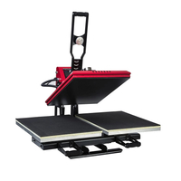 double locations automatic open heat press